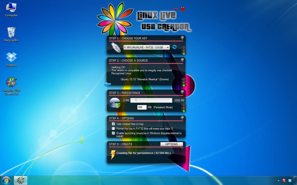 windows live cd usb creator